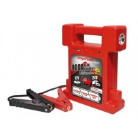 JumpsPower AMG24 Powersports Battery - 12/24V Truck Jump Starter With Ingenious Spark-proof clamp