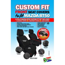 Skinz custom fit front seat covers Mazda BT-50
